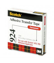 "Scotch 3/4"" x 108 ft. ATG Adhesive Transfer Tape"