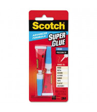 Scotch .07 oz Advanced Formula Liquid Super Glue, 2/Pack