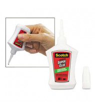 Scotch .14 oz Super Glue NoRun Gel with Precision Applicator