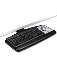 "3M 21-3/4"" Lever Adjustable Standard Keyboard Tray, Black"