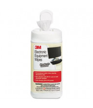 3M Electronic Equipment Cleaning Wipes Can, 80 Wipes