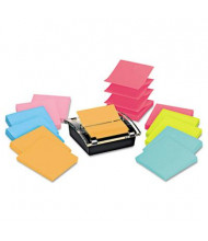 "Post-it Super Sticky Pop-up Dispenser Value Pack for 3"" x 3"" Pop-Up Notes, Assorted"