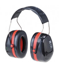 3M Peltor Optime 105 Extreme Performance Earmuff, Black/Red