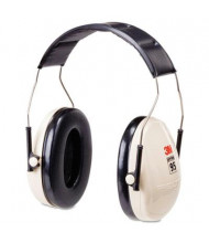 3M Peltor Optime 95 Low Profile Folding Earmuff, Black/White