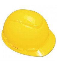 3M H-700 Series 4 Point Ratchet Suspension Hard Hat, Yellow