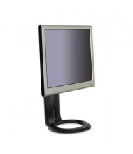 "3M Easy-Adjust 16"" H LCD Monitor Stand, Black"