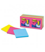 """Post-It 3"""" X 3"""", 12 100-Sheet Pads, Cape Town Pop-Up Notes"""