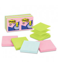 "Post-It 3"" X 3"", 12 100-Sheet Pads, Marseille Pop-Up Notes"