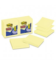 "Post-It 3"" X 3"", 12 90-Sheet Pads, Canary Yellow Pop-Up Notes"