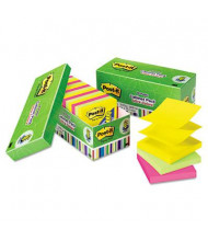 "Post-It 3"" X 3"", 18 100-Sheet Pads, Jaipur Color Pop-Up Notes"