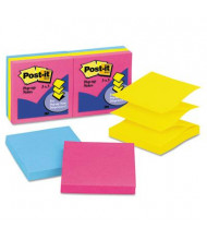 "Post-It 3"" X 3"", 6 100-Sheet Pads, Cape Town Pop-Up Notes"