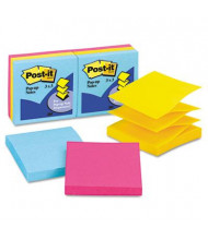 "Post-It 3"" X 3"", 6 100-Sheet Pads, Jaipur Color Pop-Up Notes"