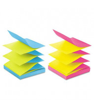 "Post-It 3"" X 3"", 12 100-Sheet Pads, Alternating Marseille Color Pop-Up Refill Notes"