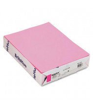 "Mohawk BriteHue 8-1/2"" X 11"", 20lb, 500-Sheets, Ultra Pink Multipurpose Colored Paper"