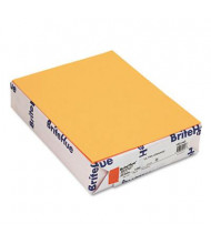 "Mohawk BriteHue 8-1/2"" X 11"", 24lb, 500-Sheets, Ultra Orange Multipurpose Colored Paper"