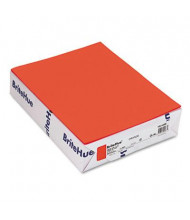 "Mohawk BriteHue 8-1/2"" X 11"", 24lb, 500-Sheets, Orange Multipurpose Colored Paper"