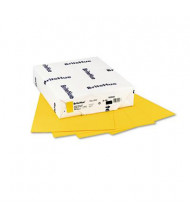 "Mohawk BriteHue 8-1/2"" X 11"", 24lb, 500-Sheets, Yellow Multipurpose Colored Paper"