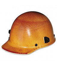 MSA Skullgard Ratchet Suspension Protective Hard Cap with Welder's Lugs, Size 6-1/2 to 8, Natural Tan