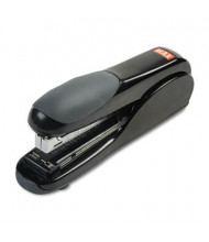 Max HD50DFBK Flat-Clinch Full Strip 30-Sheet Capacity Black Standard Stapler