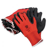 North Safety NorthFlex 10XL Foamed PVC Gloves, Red/Black, 12 Pairs