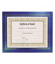 "NuDell Leatherette 8.5"" W x 11"" H Document Frame, Blue, 2-Pack"