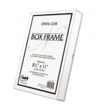 """NuDell 8.5"""" W x 11"""" H Box Frame, Clear"""