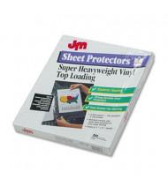 "Oxford 8-1/2"" x 11"" Top-Load Heavyweight Sheet Protectors, 50/Box"