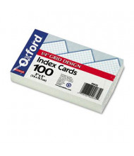 "Oxford 3"" x 5"", 150-Cards, Grid Index Cards"