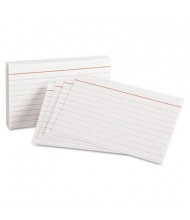 "Oxford 3"" x 5"", 100-Cards, White, Ruled Index Cards"