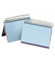 "Oxford 4"" x 6"", 50-Cards, Assorted Colors, Ruled Spiral Bound Index Cards"
