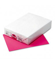 "Pacon 8-1/2"" X 11"", 24lb, 500-Sheets, Hot Pink Multipurpose Colored Paper"
