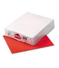 "Pacon 8-1/2"" X 11"", 24lb, 500-Sheets, Rojo Red Multipurpose Colored Paper"
