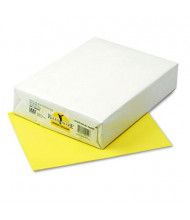 "Pacon 8-1/2"" X 11"", 24lb, 500-Sheets, Lemon Yellow Multipurpose Colored Paper"
