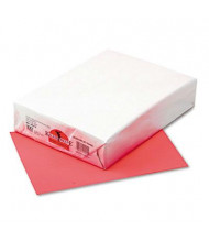 "Pacon 8-1/2"" X 11"", 24lb, 500-Sheets, Coral Red Multipurpose Colored Paper"