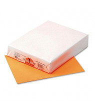 "Pacon 8-1/2"" X 11"", 24lb, 500-Sheets, Orange Multipurpose Colored Paper"