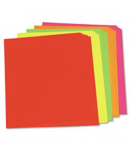 """Pacon 28"""" x 22"""" 25-Pack Neon Color Poster Boards"""