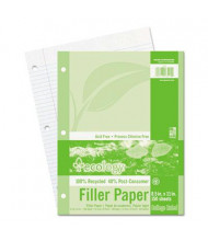 "Pacon 8-1/2"" x 11"", 150-Sheets, College Rule Ecology Filler Paper"