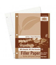 "Pacon 8"" x 10-1/2"", 150-Sheets, Wide Rule Ecology Filler Paper"