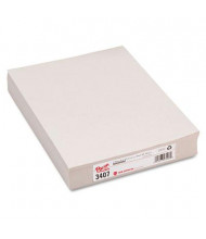 "Pacon 9"" x 12"", 30lb, 500-Sheet, White Newsprint Art Paper"