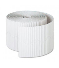 "Pacon Bordette 2-1/4"" x 50 ft. White Decorative Border Roll"