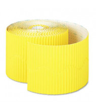 "Pacon Bordette 2-1/4"" x 50 ft. Canary Decorative Border Roll"