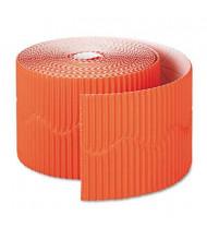 "Pacon Bordette 2-1/4"" x 50 ft. Orange Decorative Border Roll"