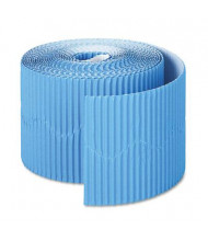 "Pacon Bordette 2-1/4"" x 50 ft. Brite Blue Decorative Border Roll"