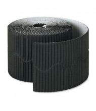 "Pacon Bordette 2-1/4"" x 50 ft. Black Decorative Border Roll"