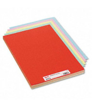 """Pacon 18"""" x 12"""" 100-Pack Assorted Colors Tagboards"""