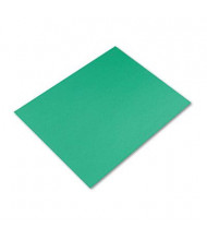 "Pacon Peacock 28"" x 22"" 25-Pack Kelly Green Four-Ply Poster Boards"