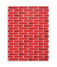 "Pacon Fadeless Designs 48"" x 50 ft. Brick Bulletin Board Paper Roll"