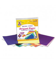 "Pacon 9"" x 9"", 40-Sheets, Origami Paper, Assorted Bright"