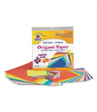 "Pacon 9-3/4"" x 9-3/4"", 55-Sheets, Origami Paper, Assorted Bright"
