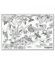 """Pacon 72"""" x 48"""" Insects Learning Walls Paper"""